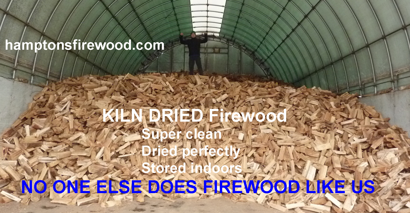 We are firewood experts